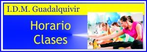 BANNER horario clases GUADALQUIVIR
