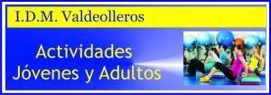 BANNER actividades adultos y jovenes VALDEOLLEROS